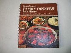 family dinner bookbook