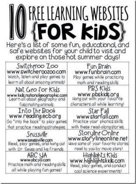 online learning sites for kids